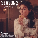 <h5>by Ardra Morse</h5><p>Season 2, you say? Sounds delicious!</p>