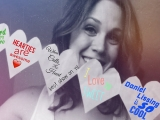 <h5>by Ardra Morse (Erin Krakow photo credit)</h5><p>Erin Krakow shows some love for the Hearties.</p>