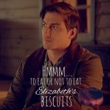 <h5>by Ardra Morse</h5><p>Jack: To eat or not to eat Elizabeth&#039;s biscuits...</p>