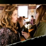 <h5>Pascale getting make up</h5><p>Photo credit: @leahmakeupdesign</p>