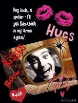 <h5>by Ruth Ann Kiger</h5><p>Hey look, a spider - I&#039;ll get Elizabeth in my arms again!</p>
