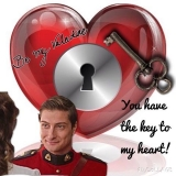 <h5>by Ruth Ann Kiger</h5><p>You have the key to my heart!</p>