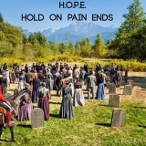 <h5>by Ruth Ann Kiger</h5><p>H.O.P.E.: Hold On Pain Ends.</p>