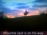 <h5>by Nicole Chalpara</h5><p>Mountie Jack on his way</p>