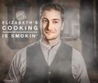 <h5>by Ardra Morse</h5><p>Elizabeth&#039;s cooking is smokin&#039;!</p>
