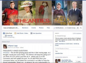 Hearties Facebook  Page