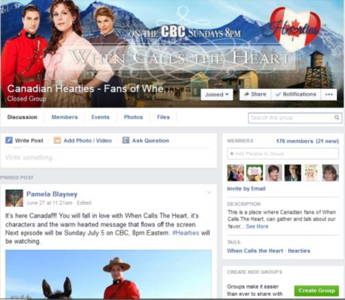 canadian hearties fb page