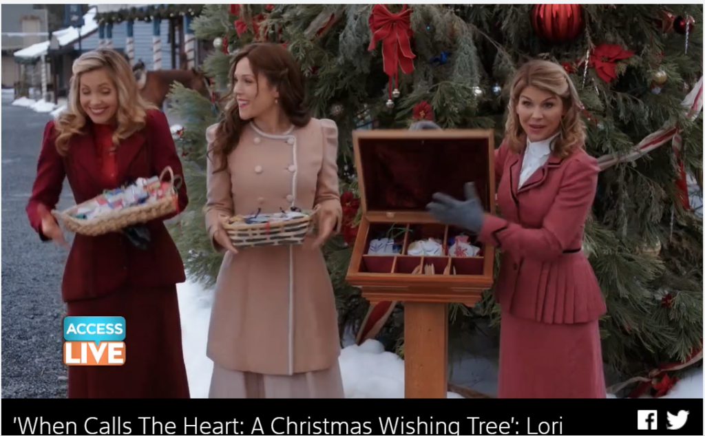 When Calls The Heart The Christmas Wishing Tree.When Calls The Heart A Christmas Wishing Tree Lori