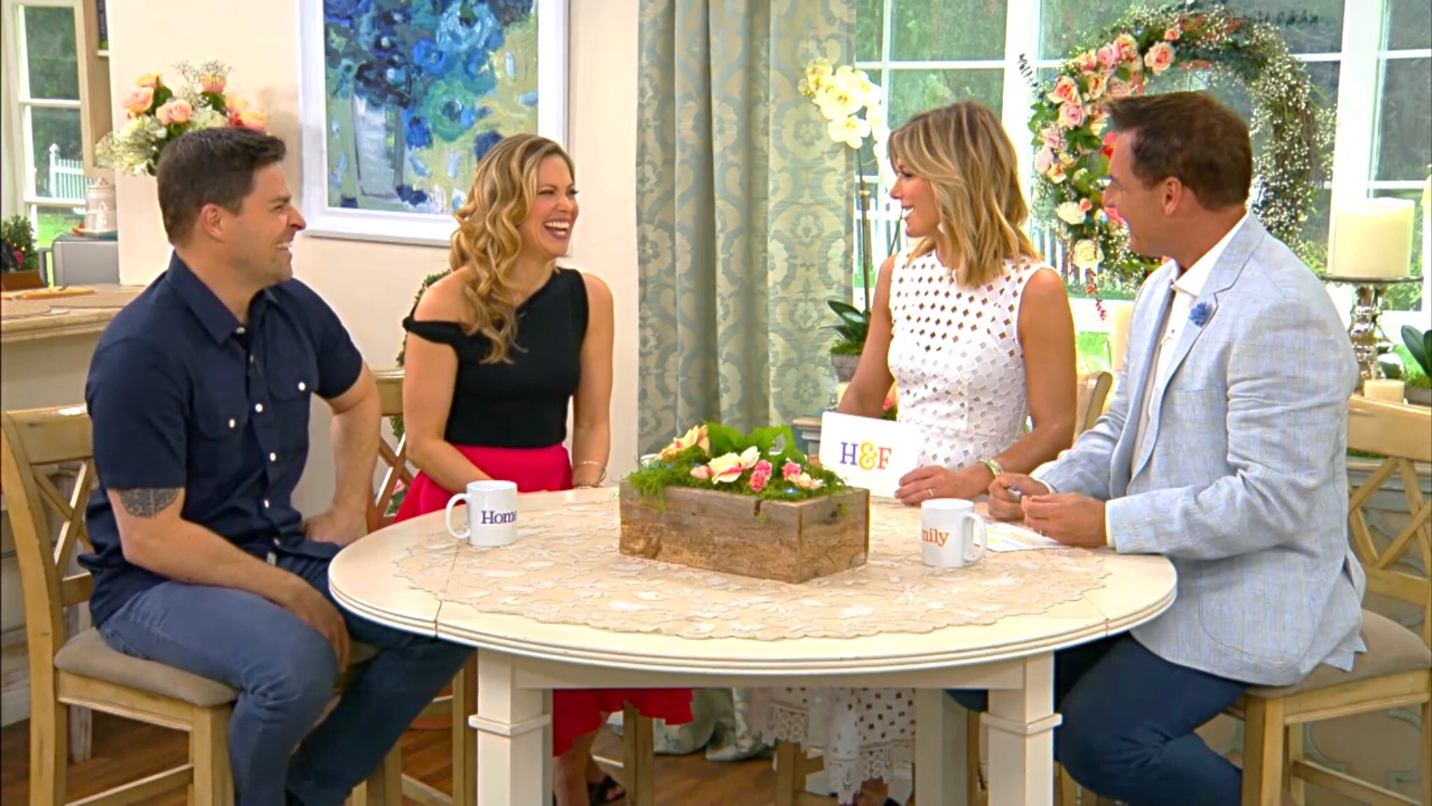 pascale hutton and kavan smith on hallmark channels home family 51618 - A Christmas Blessing Cast
